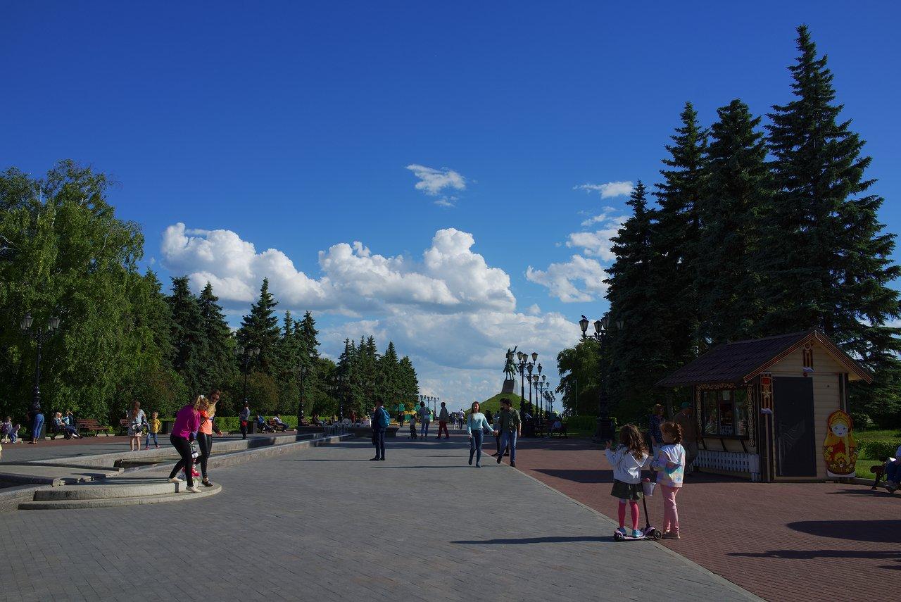 この公園とモニュメントの先からの景色は素晴らしかったです