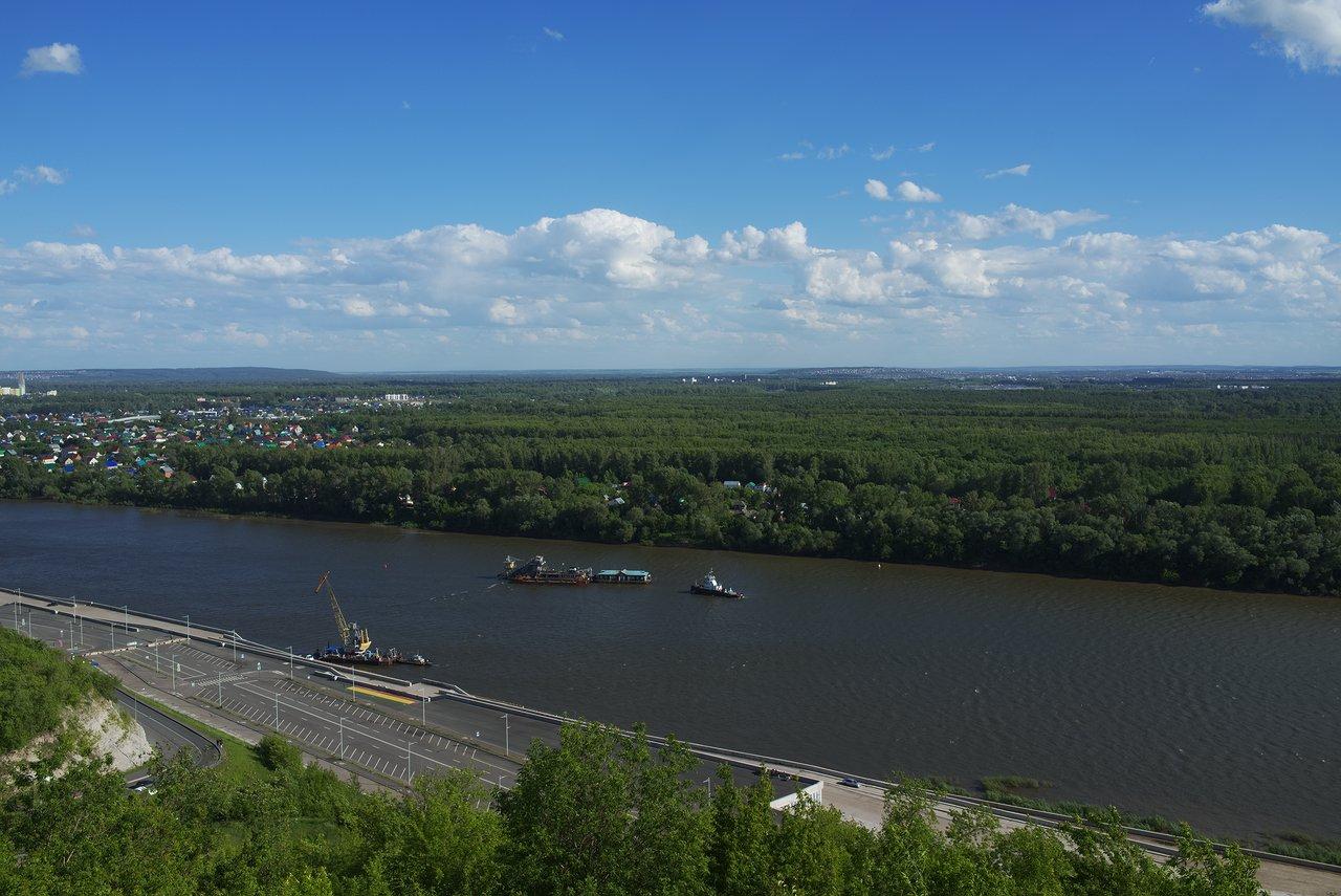 ロシアの広大な自然を思いがけず実感しました