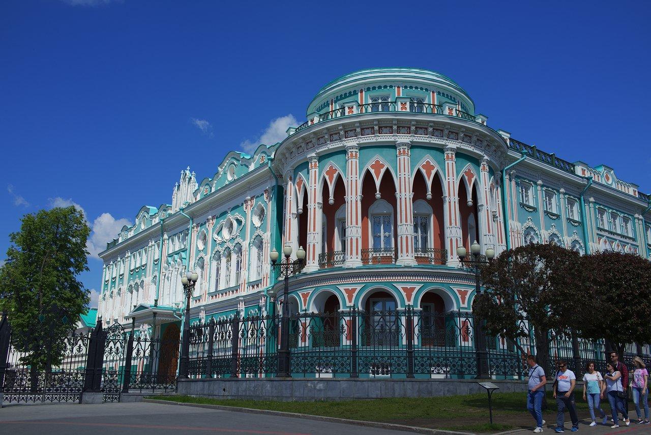 Dom N.i. Sevast'yanovaというとても美しい建物