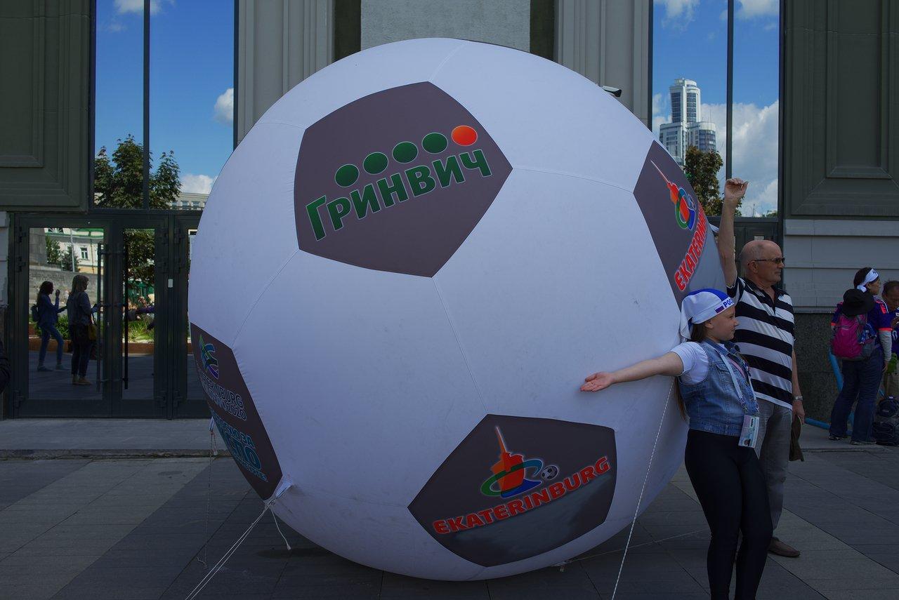 サッカーボールのオブジェクト
