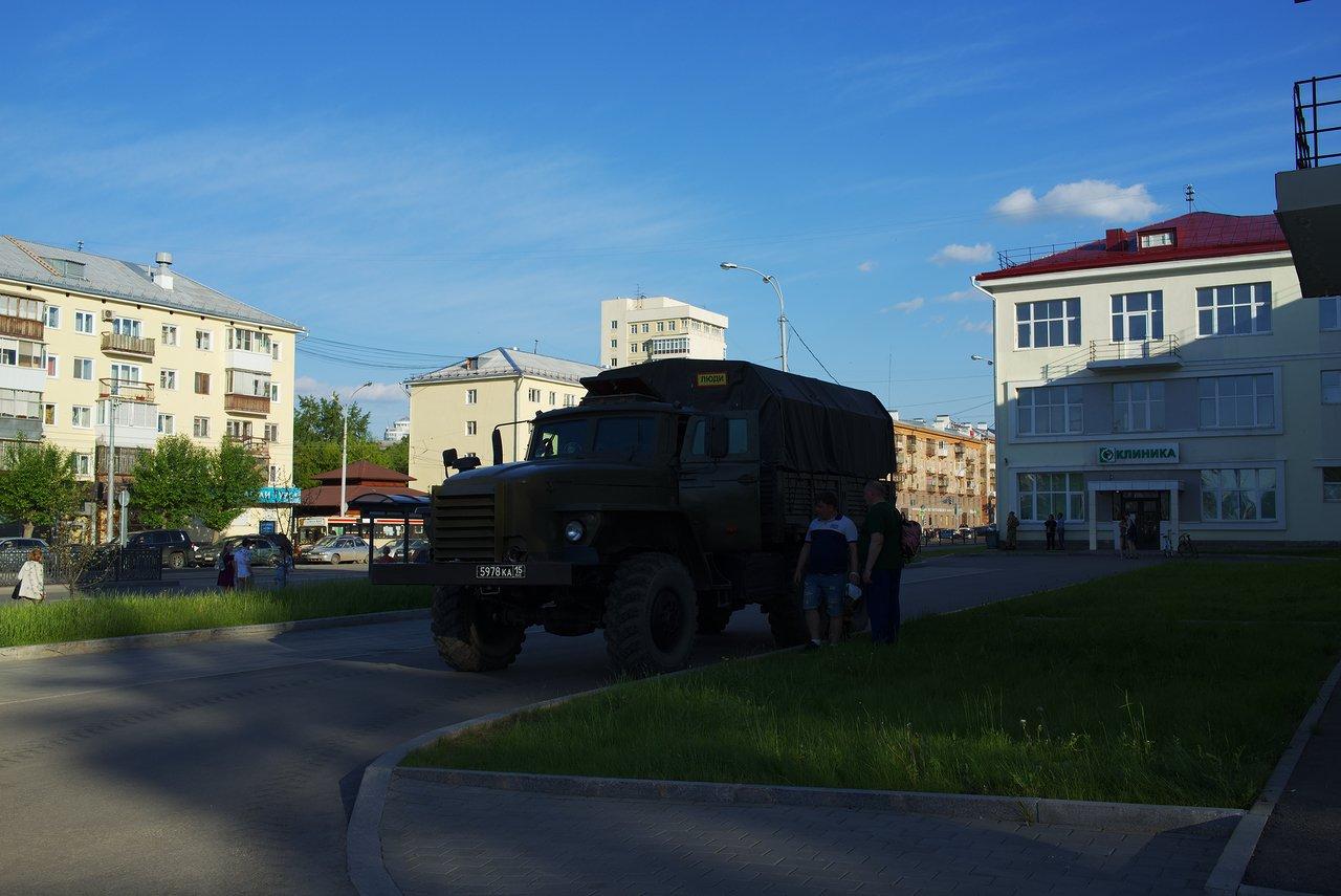 ロシア軍のトラック