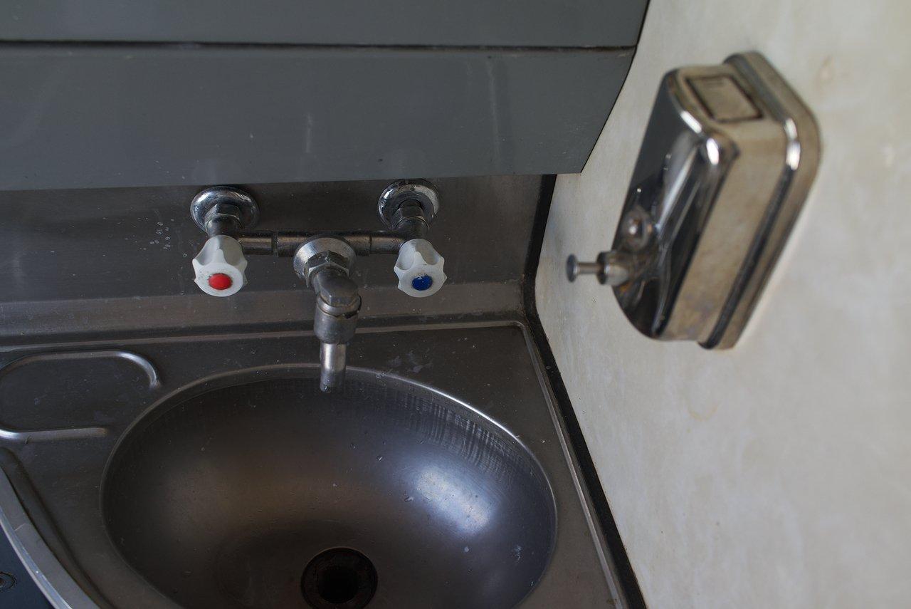 トイレ内のシンク