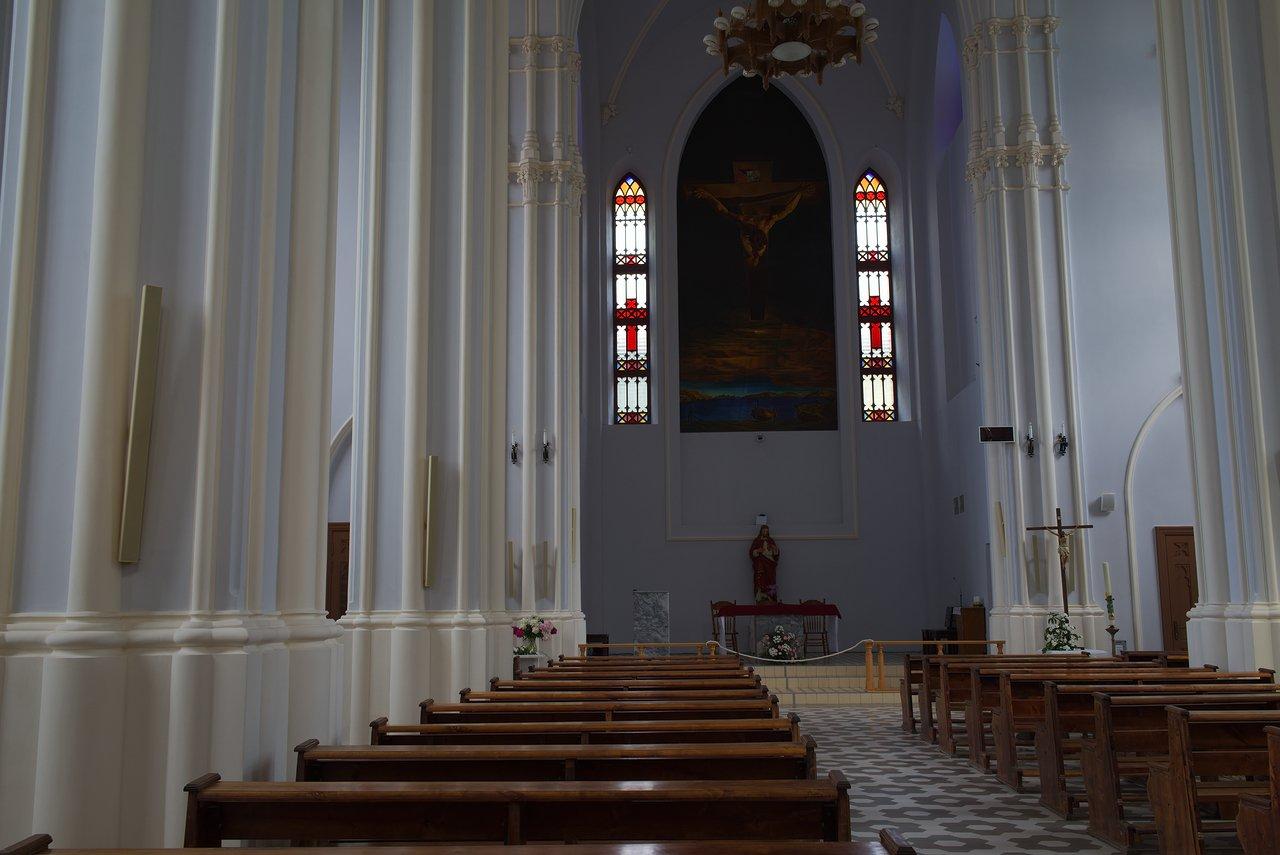 サマーラの教会内部