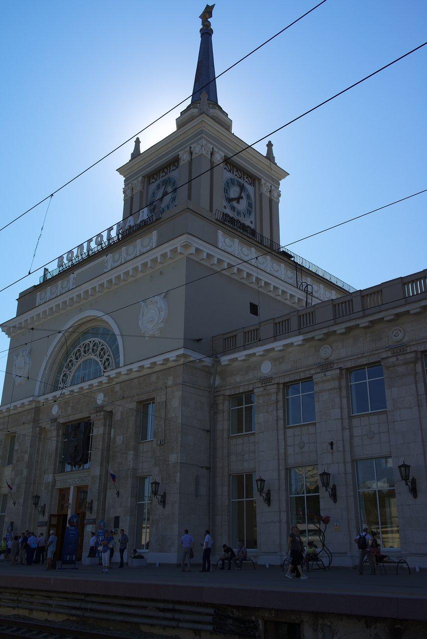 立派なヴォルゴグラード1駅の駅舎