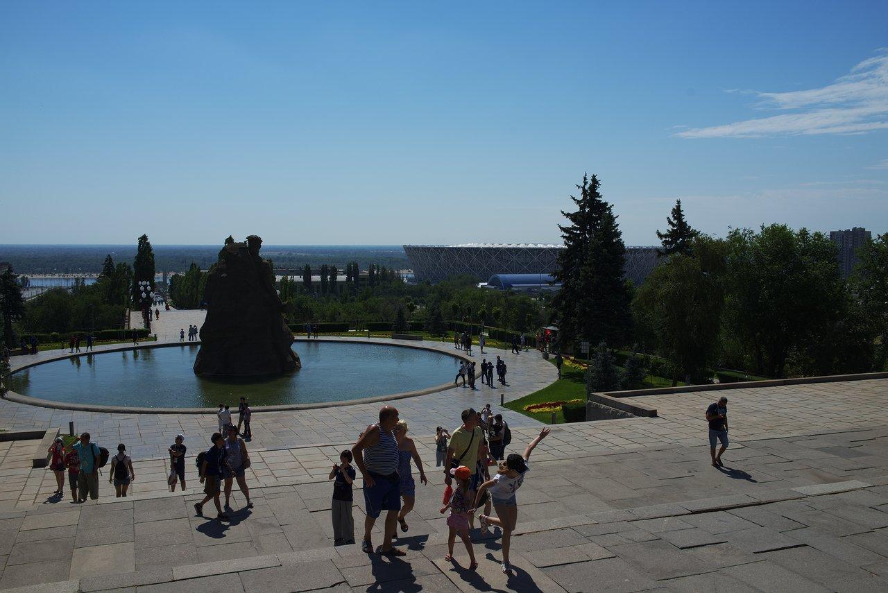 ロシア人の観光客も沢山来ていました