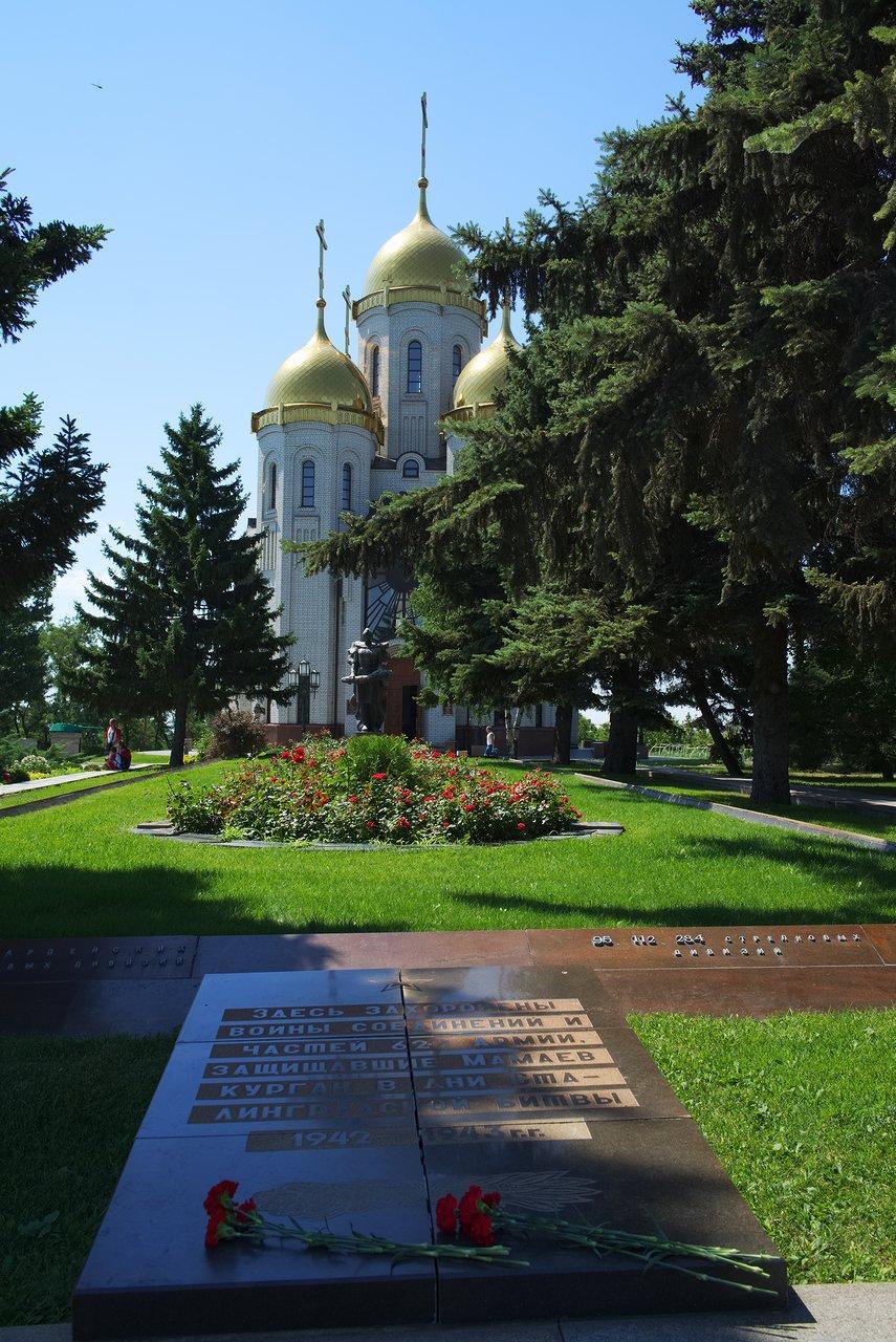 戦没者を追悼する教会