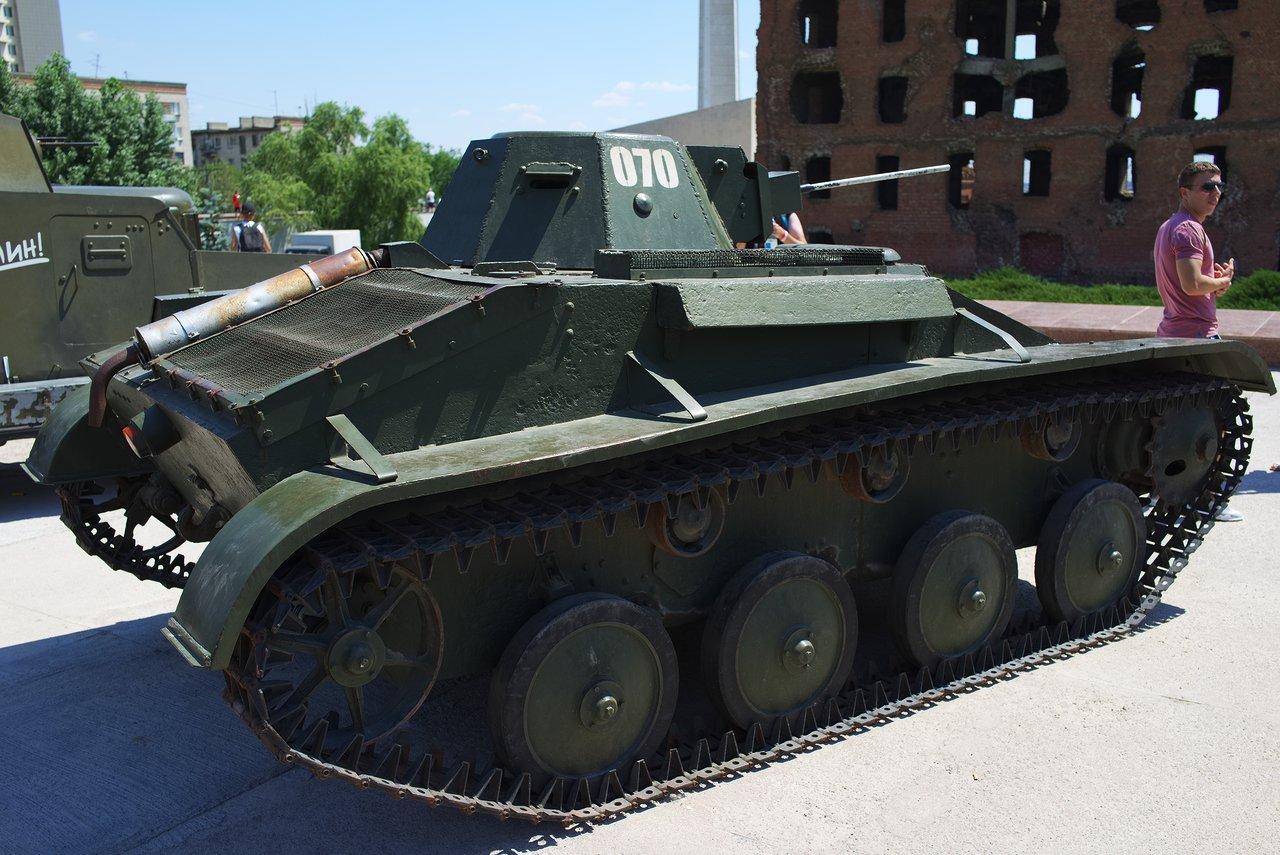 昔の軽戦車