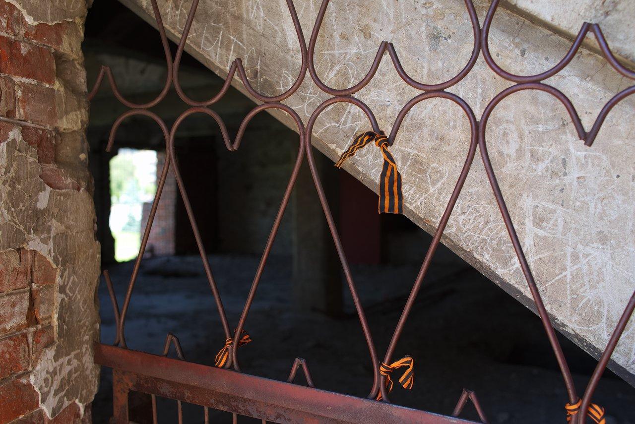旧製粉所の内部