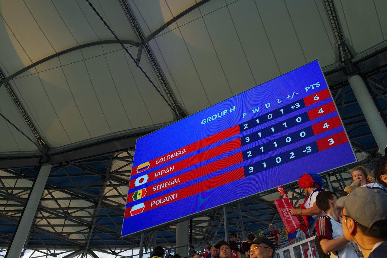 最終的にはイエローカードの差でセネガルを上回ってグループ2位で予選通過