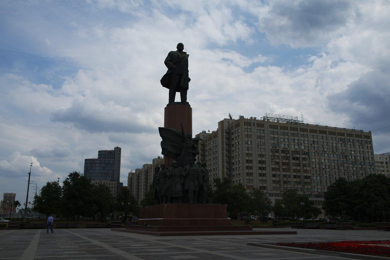 モスクワのレーニン像