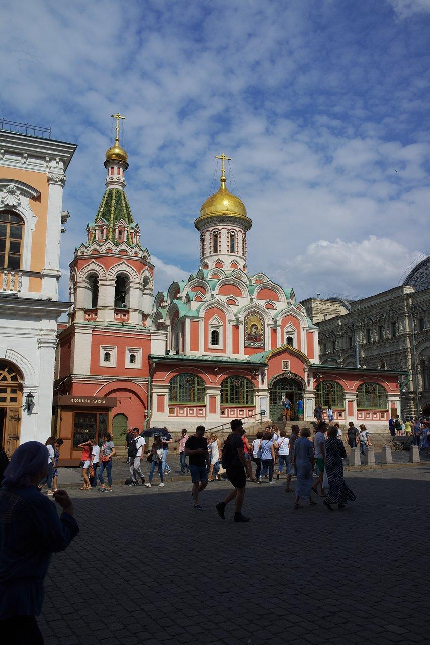 カザンの聖母聖堂というロシア正教の教会