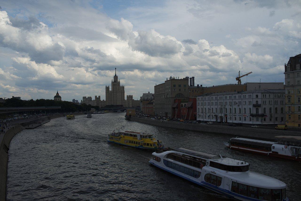 モスクワ川の景色