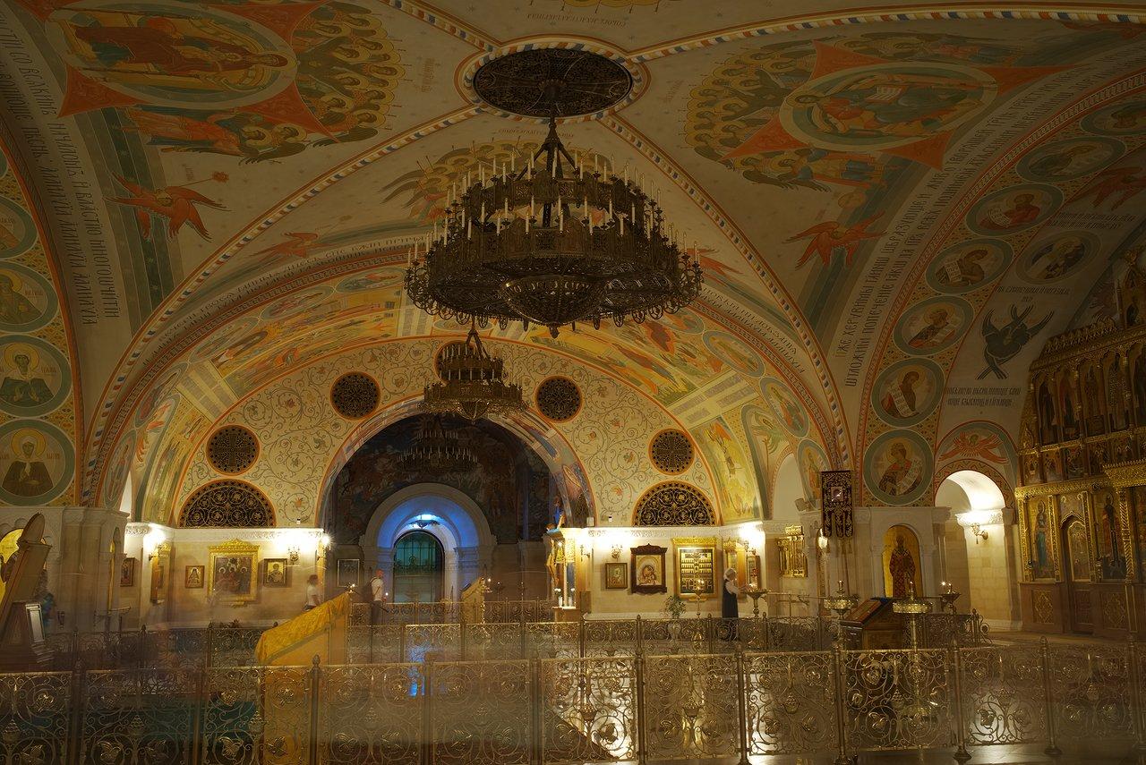 救世主ハリストス大聖堂の地下