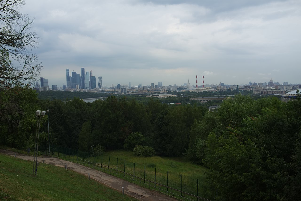 雀が丘からの景色